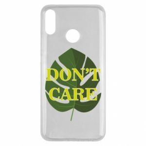 Etui na Huawei Y9 2019 Don't care leaf