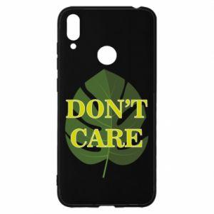 Etui na Huawei Y7 2019 Don't care leaf
