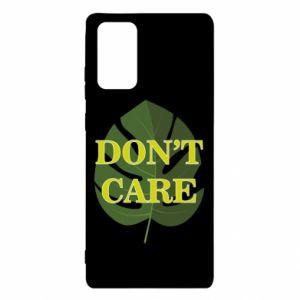 Etui na Samsung Note 20 Don't care leaf