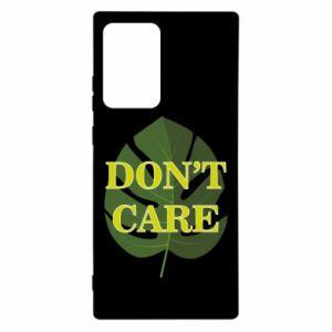 Etui na Samsung Note 20 Ultra Don't care leaf