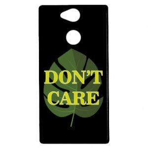 Etui na Sony Xperia XA2 Don't care leaf