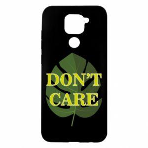 Etui na Xiaomi Redmi Note 9/Redmi 10X Don't care leaf