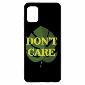 Etui na Samsung A31 Don't care leaf