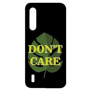 Etui na Xiaomi Mi9 Lite Don't care leaf