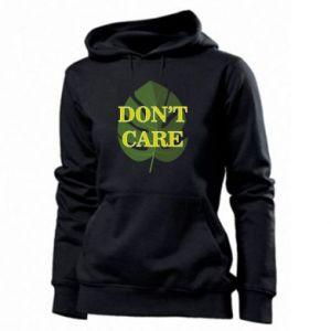 Bluza damska Don't care leaf