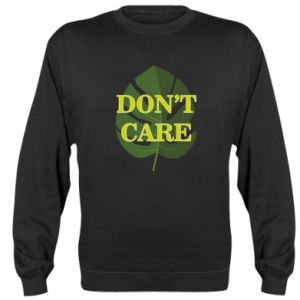 Bluza (raglan) Don't care leaf