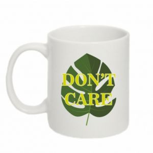 Kubek 330ml Don't care leaf