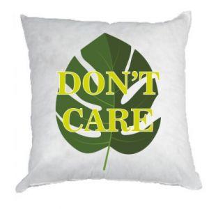 Poduszka Don't care leaf
