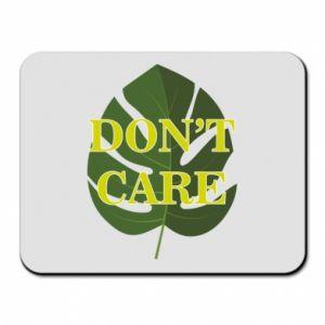 Podkładka pod mysz Don't care leaf
