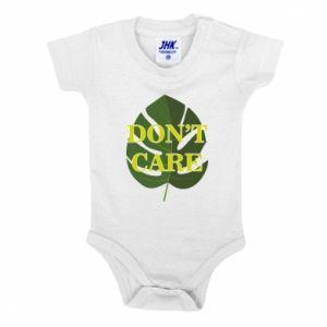 Body dziecięce Don't care leaf