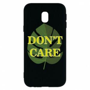Etui na Samsung J3 2017 Don't care leaf