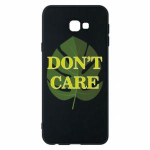 Etui na Samsung J4 Plus 2018 Don't care leaf