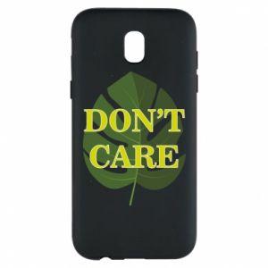 Etui na Samsung J5 2017 Don't care leaf