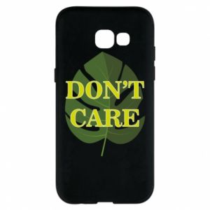 Etui na Samsung A5 2017 Don't care leaf