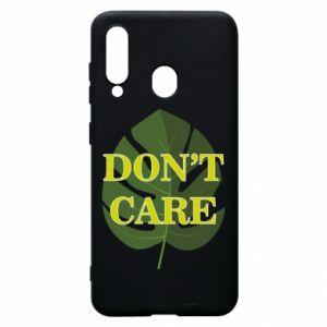Etui na Samsung A60 Don't care leaf
