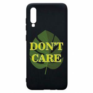 Etui na Samsung A70 Don't care leaf