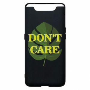 Etui na Samsung A80 Don't care leaf