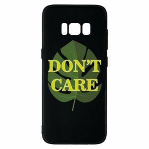 Etui na Samsung S8 Don't care leaf