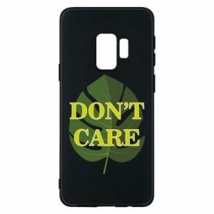 Etui na Samsung S9 Don't care leaf