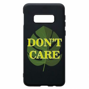 Etui na Samsung S10e Don't care leaf