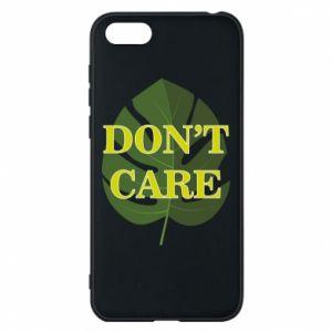 Etui na Huawei Y5 2018 Don't care leaf