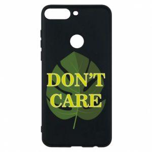 Etui na Huawei Y7 Prime 2018 Don't care leaf
