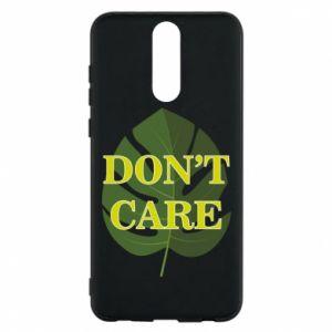 Etui na Huawei Mate 10 Lite Don't care leaf