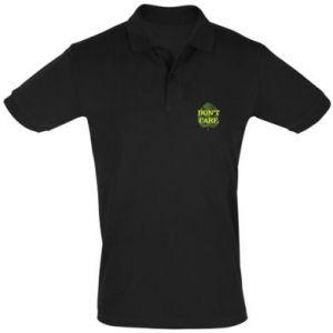 Koszulka Polo Don't care leaf