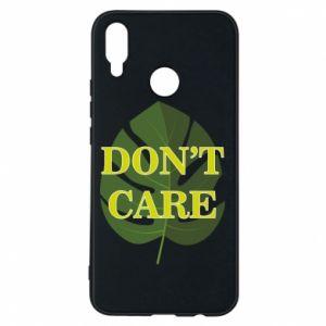 Etui na Huawei P Smart Plus Don't care leaf