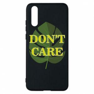 Etui na Huawei P20 Don't care leaf