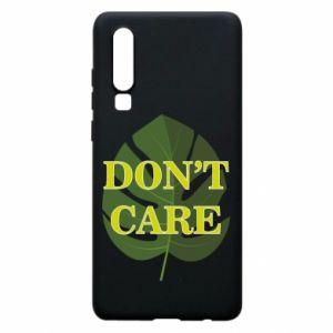 Etui na Huawei P30 Don't care leaf