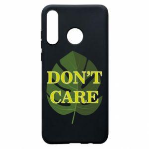 Etui na Huawei P30 Lite Don't care leaf