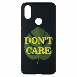 Etui na Xiaomi Mi A2 Don't care leaf
