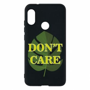 Etui na Mi A2 Lite Don't care leaf