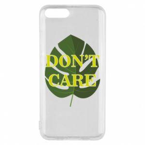 Etui na Xiaomi Mi6 Don't care leaf