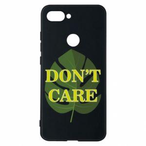 Etui na Xiaomi Mi8 Lite Don't care leaf