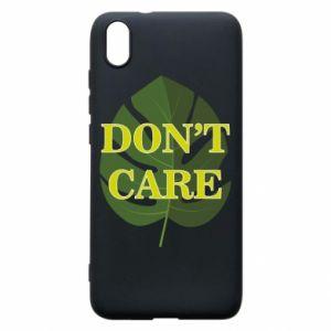 Etui na Xiaomi Redmi 7A Don't care leaf