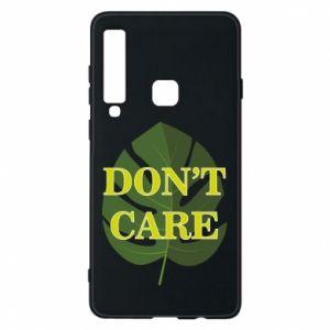 Etui na Samsung A9 2018 Don't care leaf