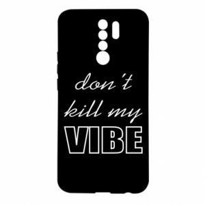 Etui na Xiaomi Redmi 9 Don't kill my vibe