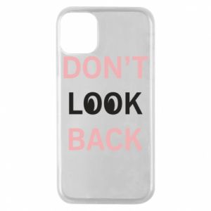 Etui na iPhone 11 Pro Don't look back