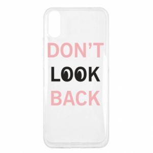 Xiaomi Redmi 9a Case Don't look back