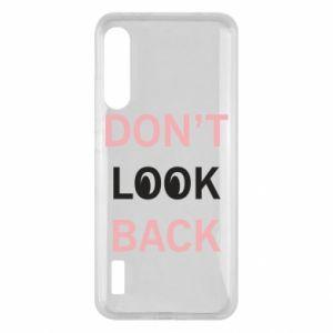 Xiaomi Mi A3 Case Don't look back