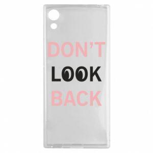Sony Xperia XA1 Case Don't look back
