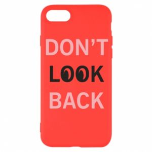 iPhone SE 2020 Case Don't look back