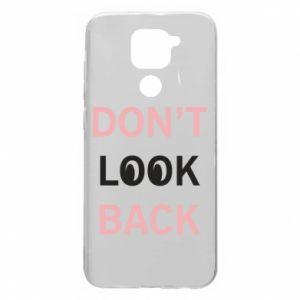 Xiaomi Redmi Note 9 / Redmi 10X case % print% Don't look back