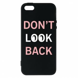 Etui na iPhone 5/5S/SE Don't look back