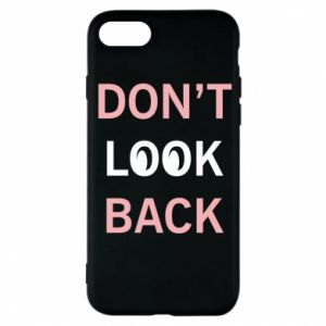 Etui na iPhone 7 Don't look back
