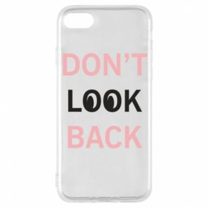 Etui na iPhone 8 Don't look back