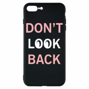 Etui na iPhone 8 Plus Don't look back