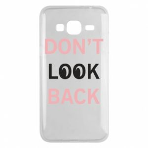 Etui na Samsung J3 2016 Don't look back